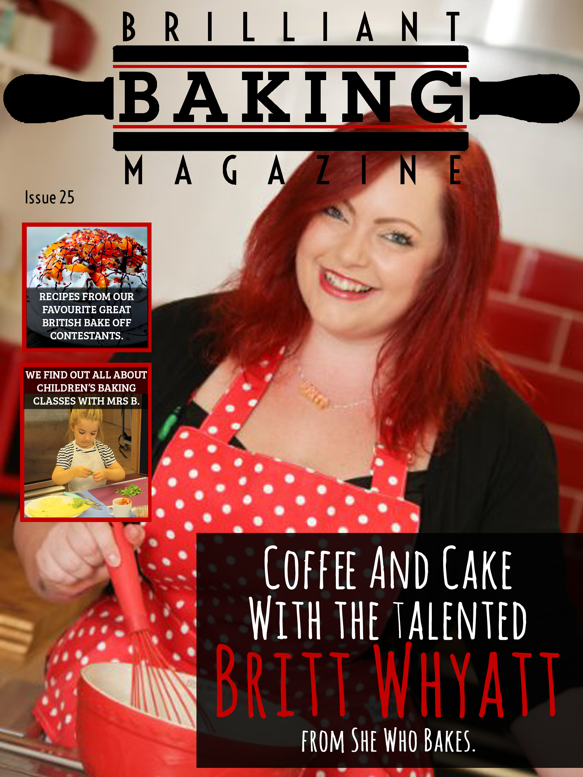 Brilliant Baking Magazine October 2016 Cover