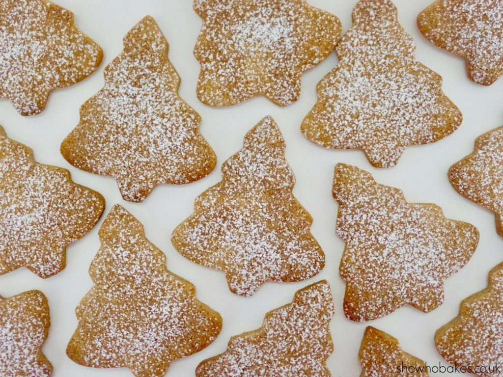Cinnamon Christmas Cookies by She Who Bakes