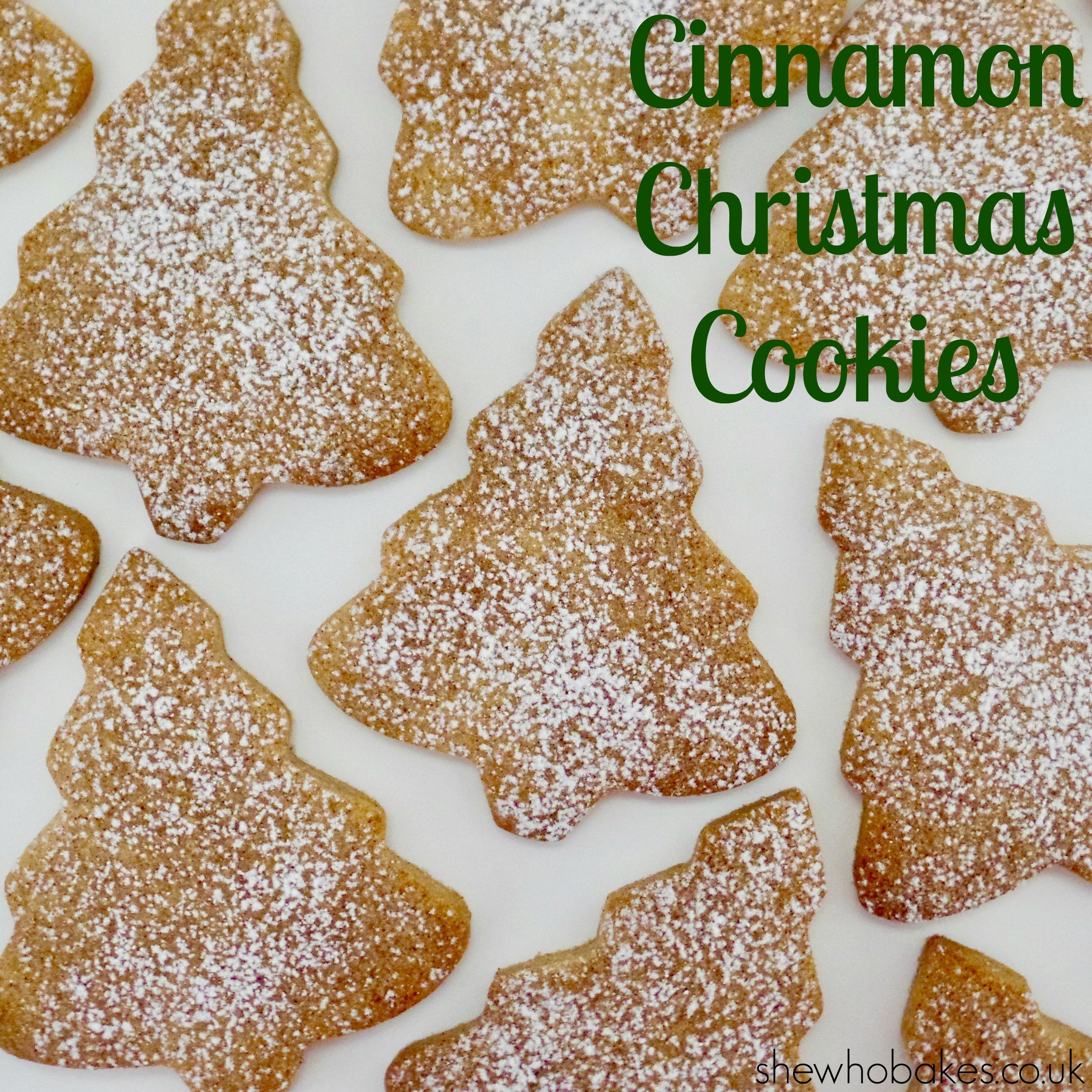 Cinnamon Christmas Cookies She Who Bakes