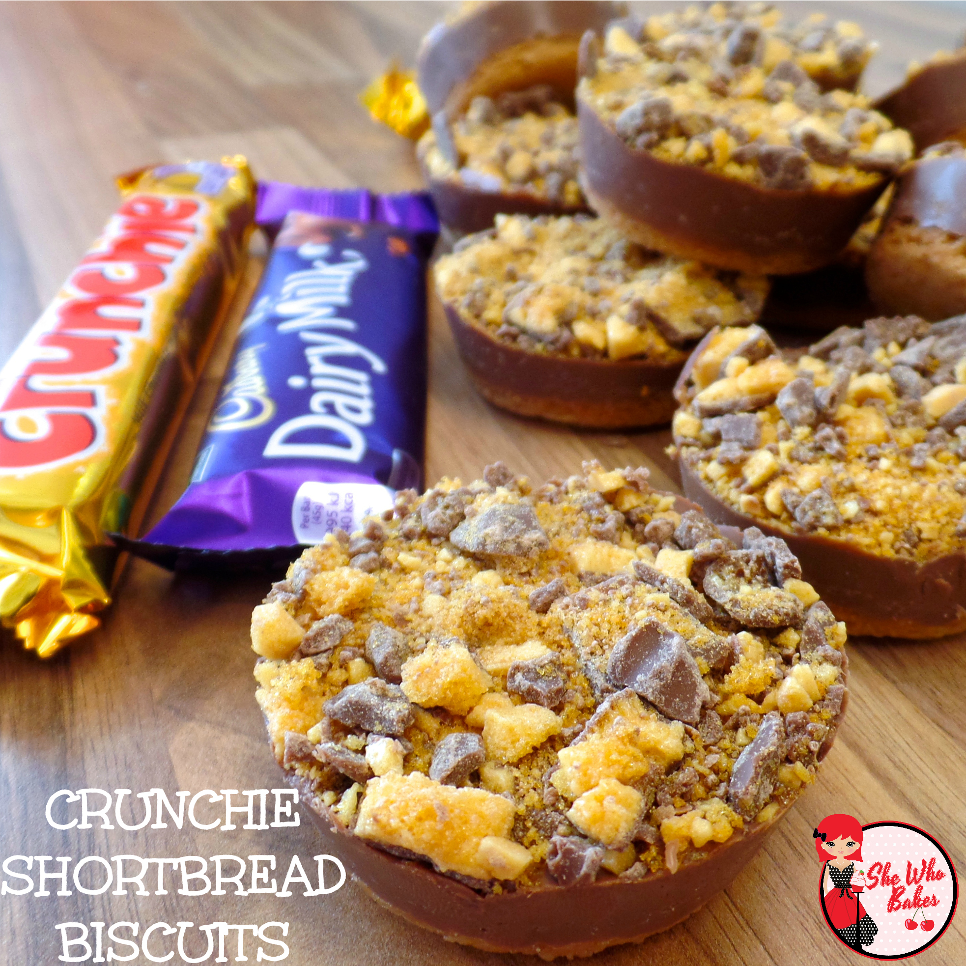 Cadbury crunchie cake