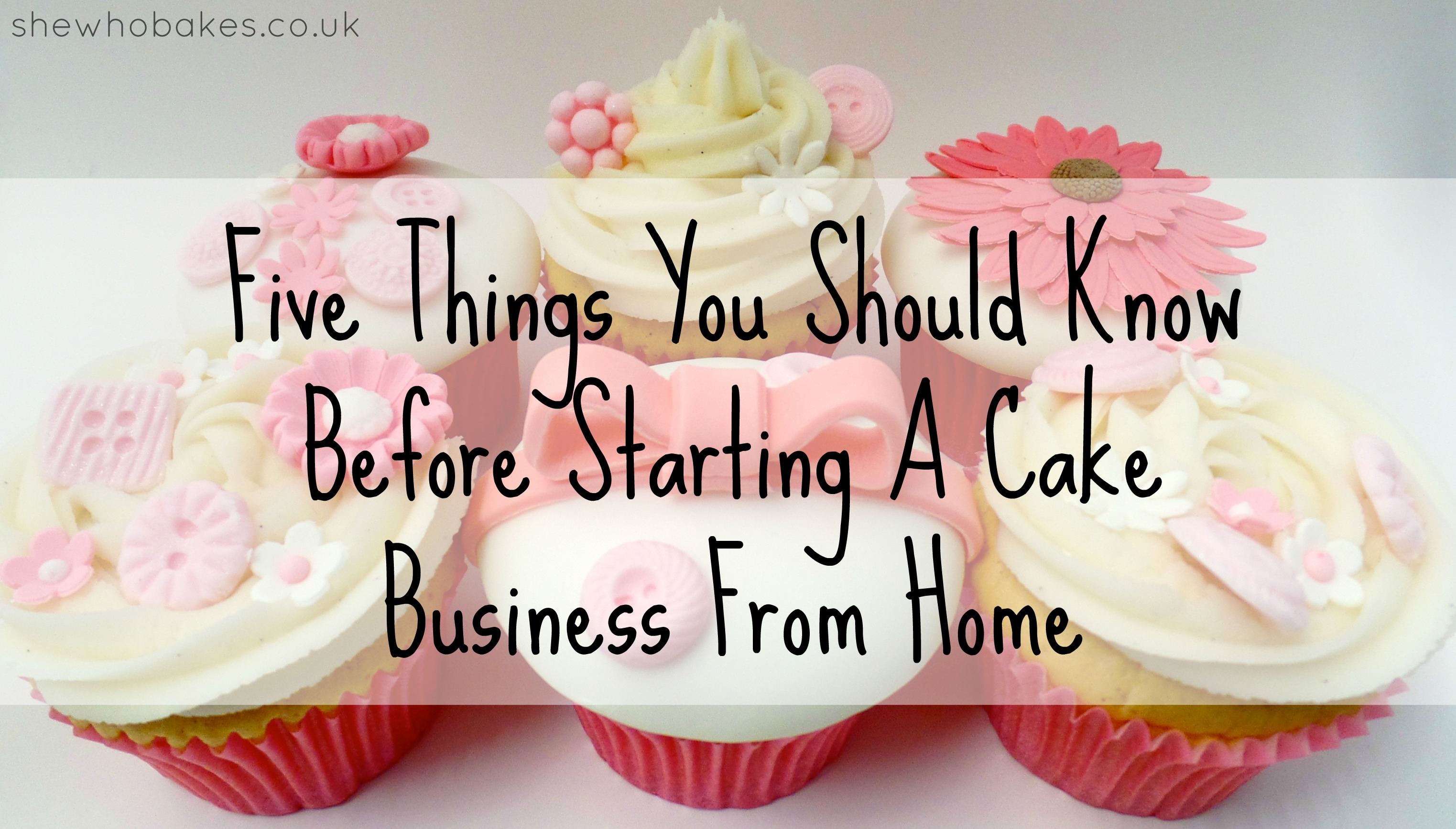 Starting A Cake Business Uk