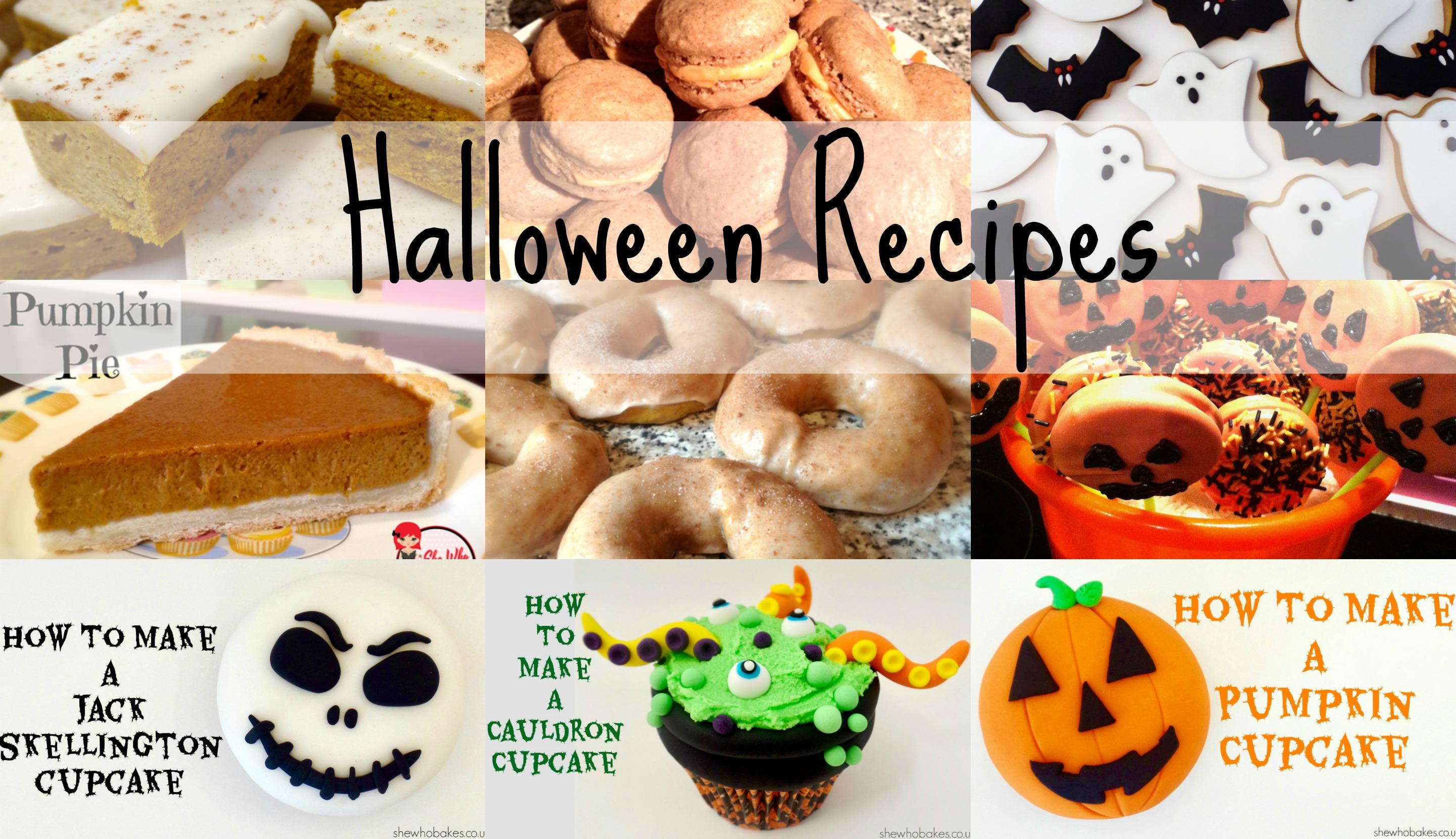 halloween recipes & tutorials - she who bakes