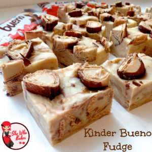 Kinder Bueno Fudge