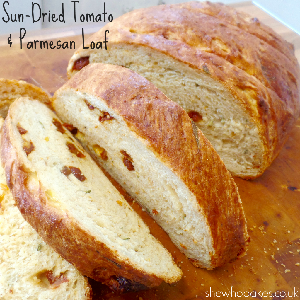 Sun-Dried Tomato & Parmesan Loaf