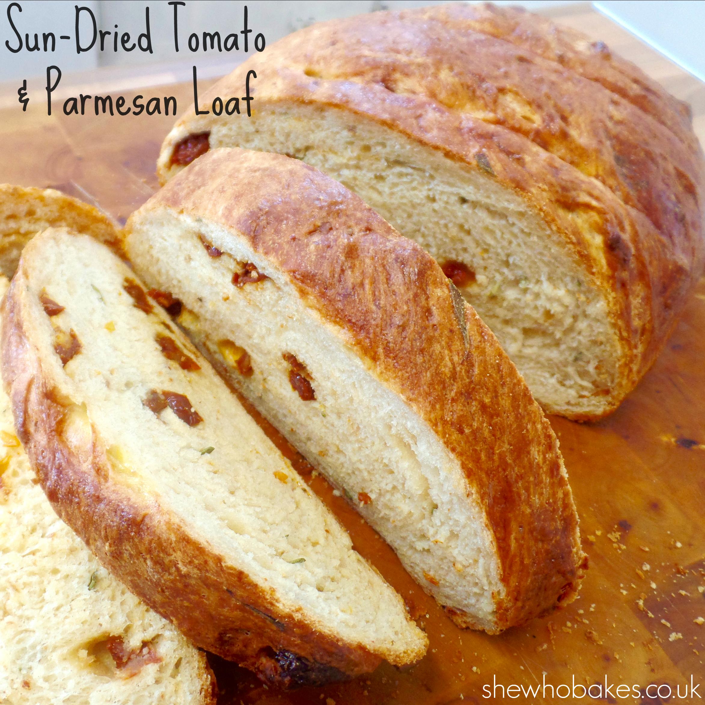 Sun-Dried Tomato & Parmesan Loaf