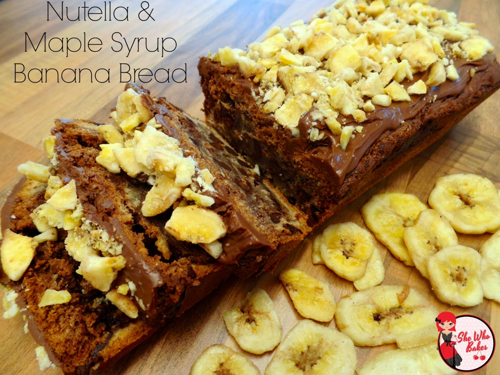 Nutella Maple Syrup Banan Bread