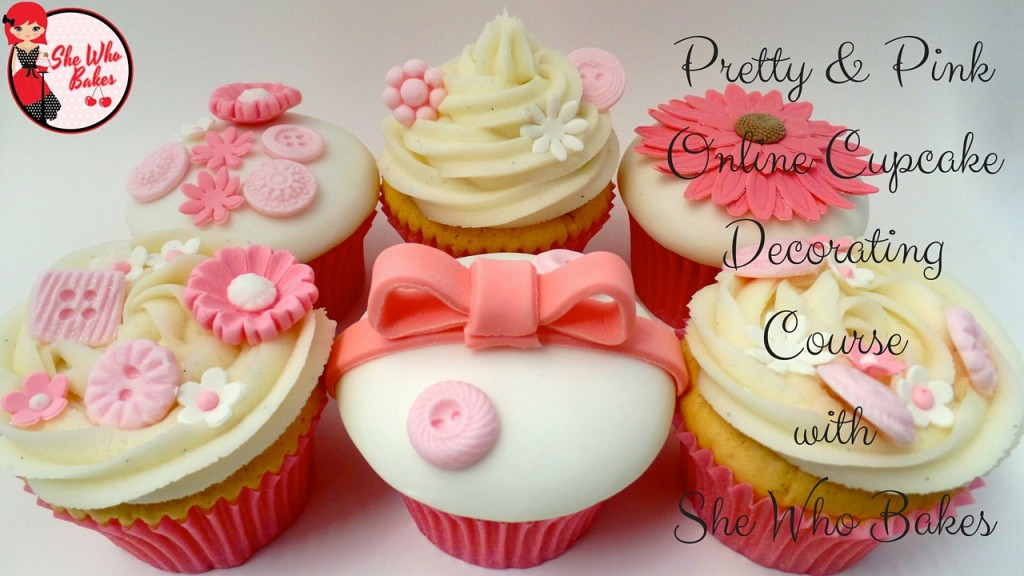 Pretty & Pink Cupcakes Online Class