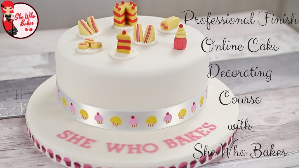 Professional Finish Cake Decorating Online Class