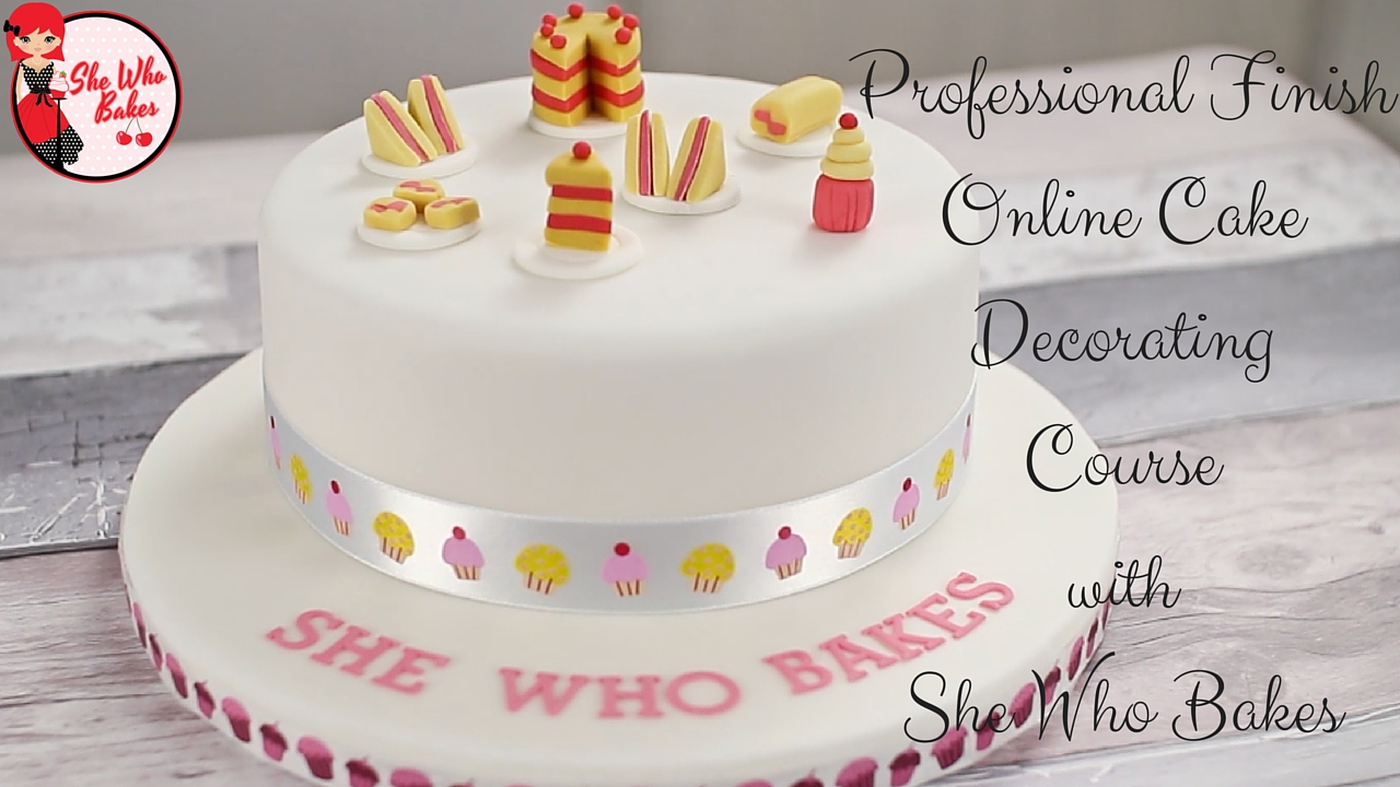 Professional Finish Online Course She Who Bakes