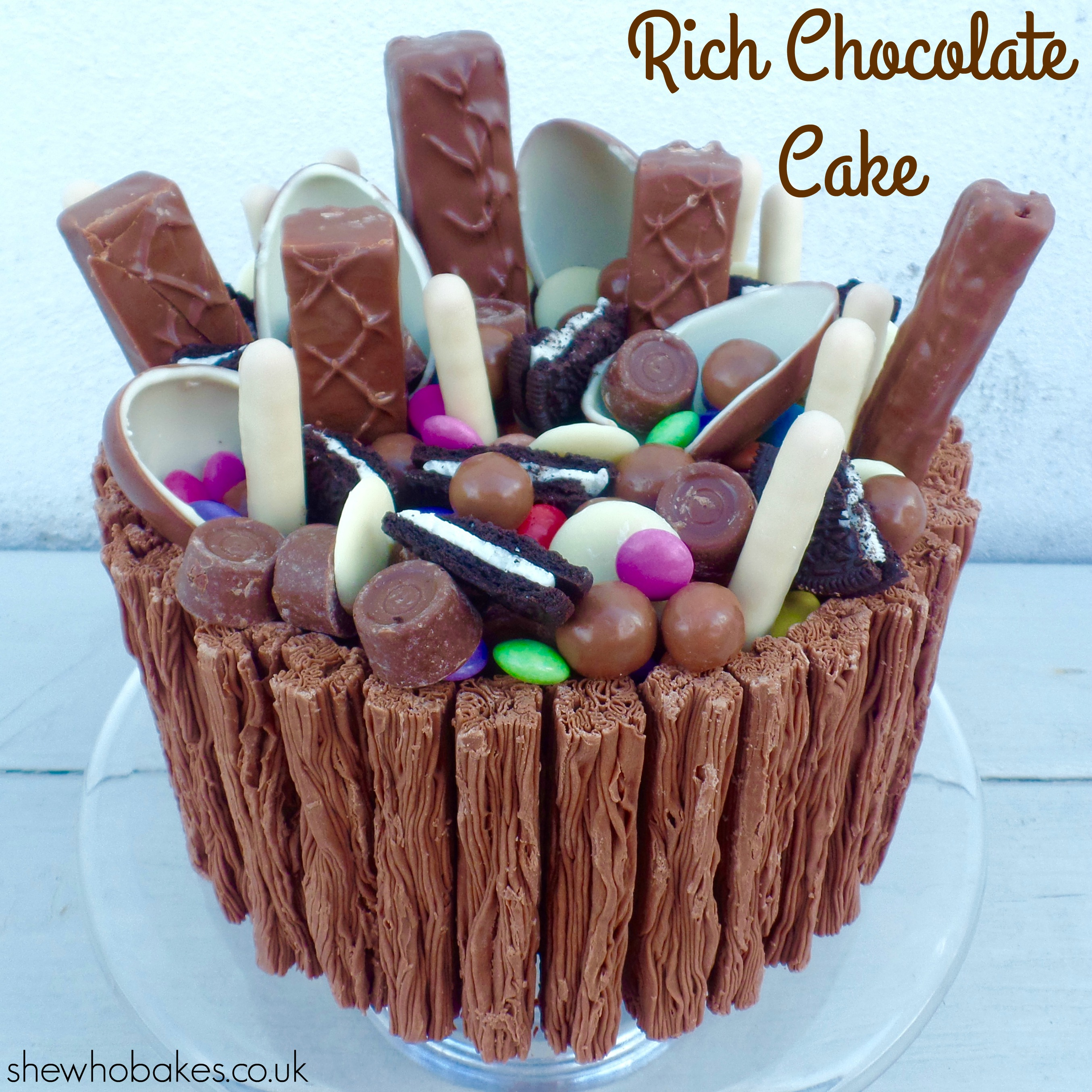 Rich Chocolate Cake by She Who Bakes