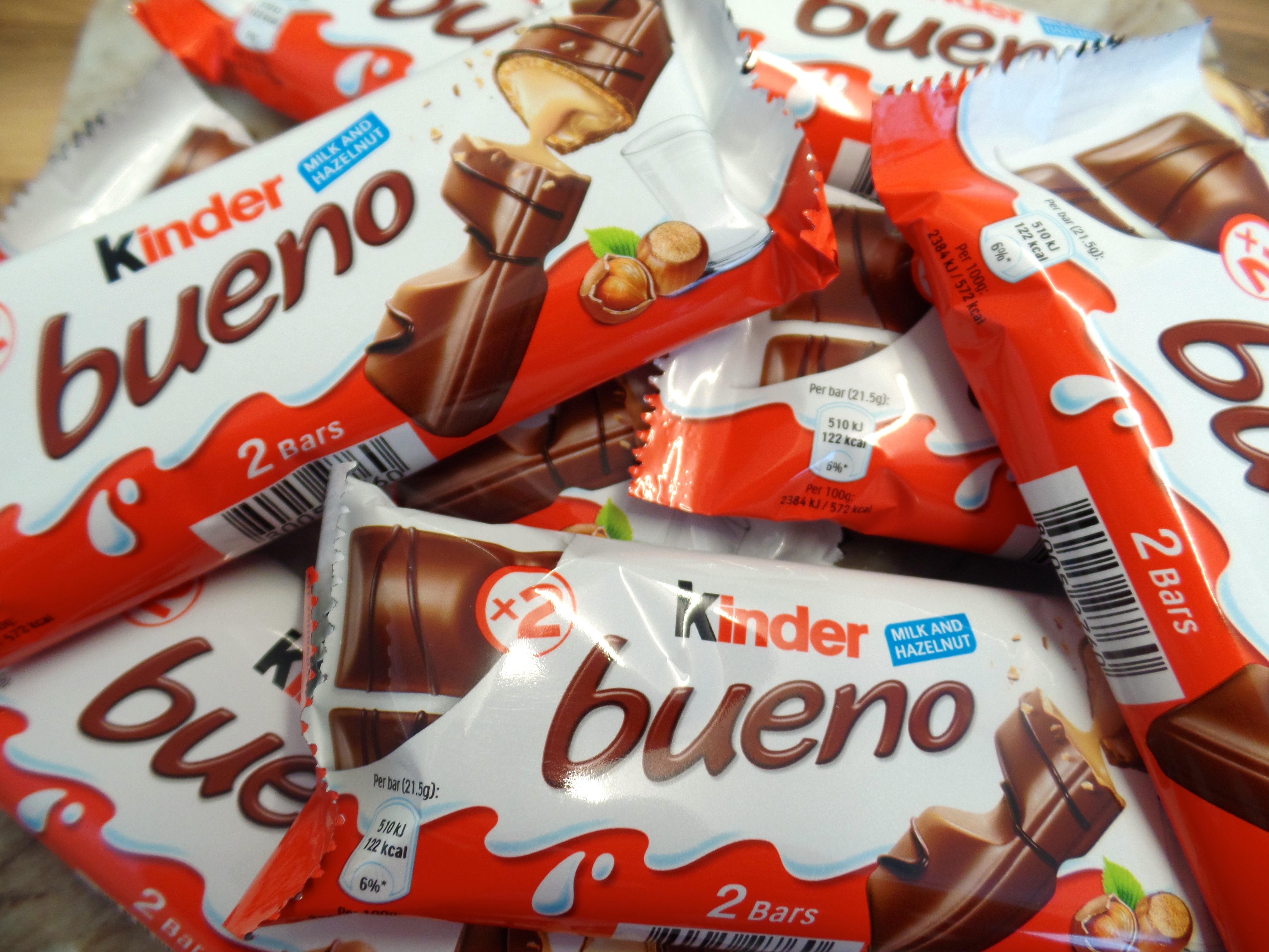 Kinder Bueno Chocolate Calories