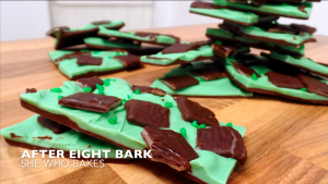 After Eight Mint Chocolate Bark