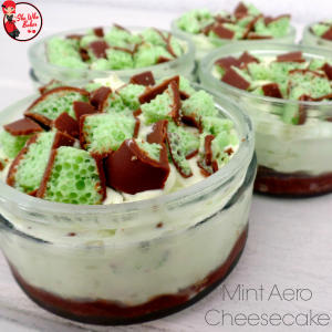 Mint Aero Cheesecake Recipe