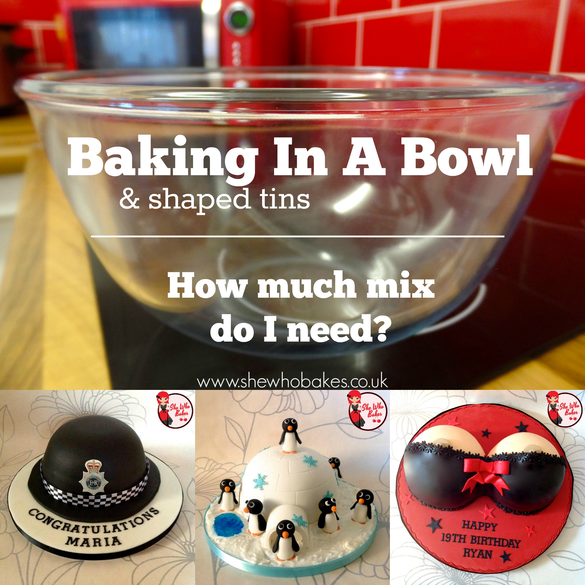 Cake Baking In Pyrex Bowl