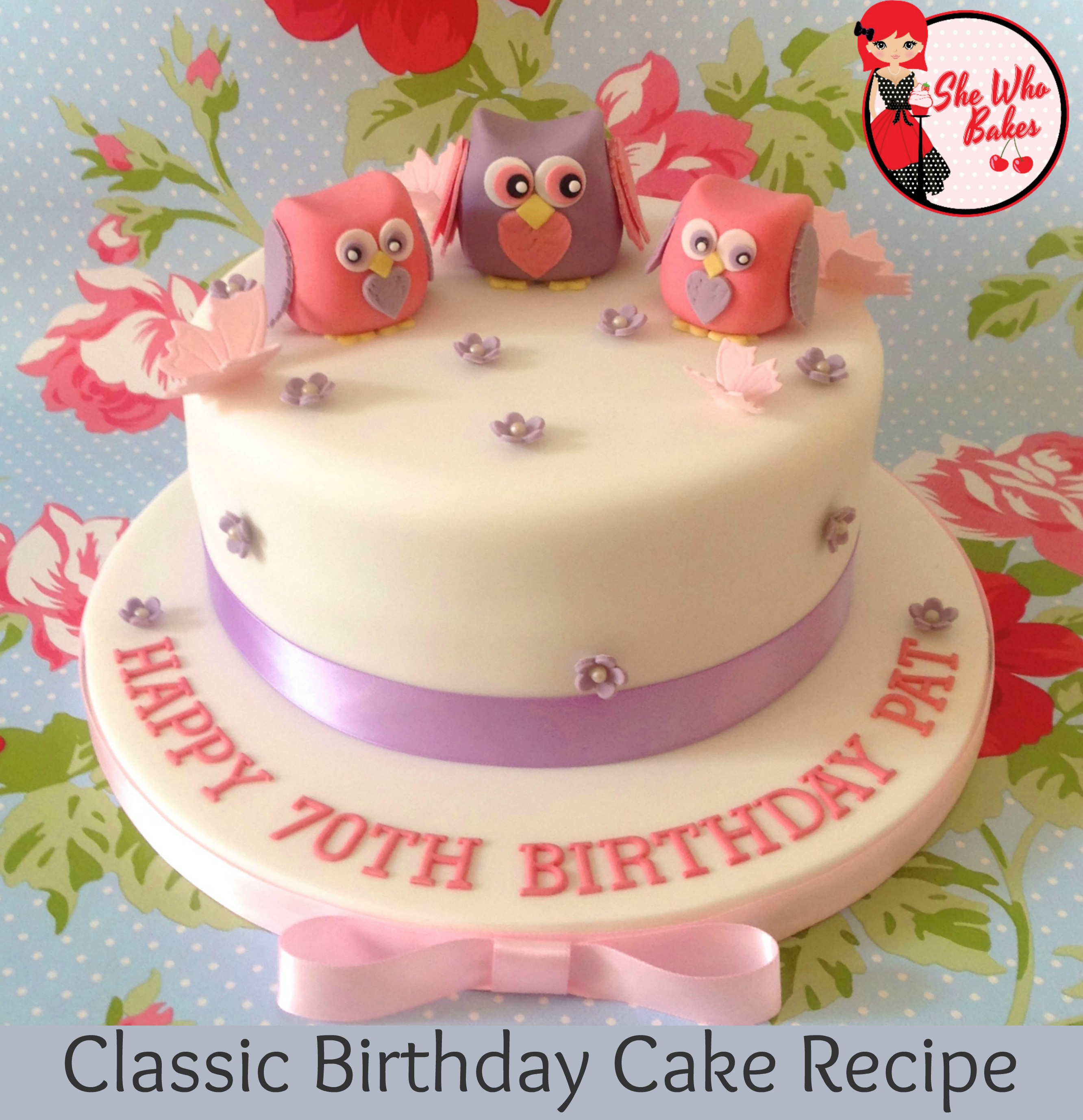 Light Birthday Cake Recipe