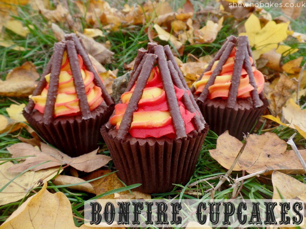 Bonfire Cupcakes She Who Bakes