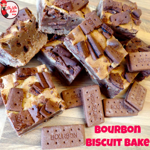 Bourbon biscuit bake recipe