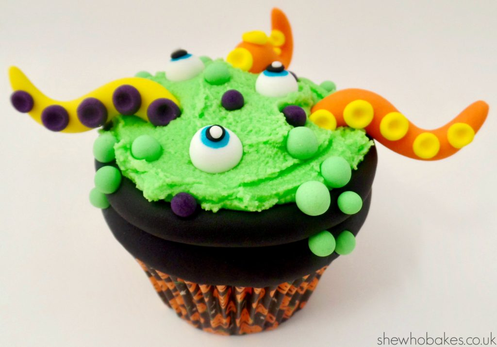 Cauldron Cupcake by She Who Bakes