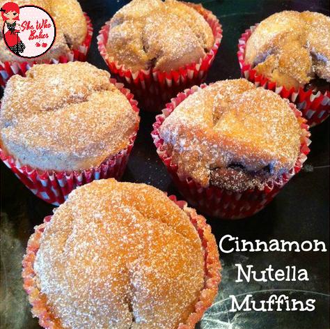 Cinnamon Nutella Muffins