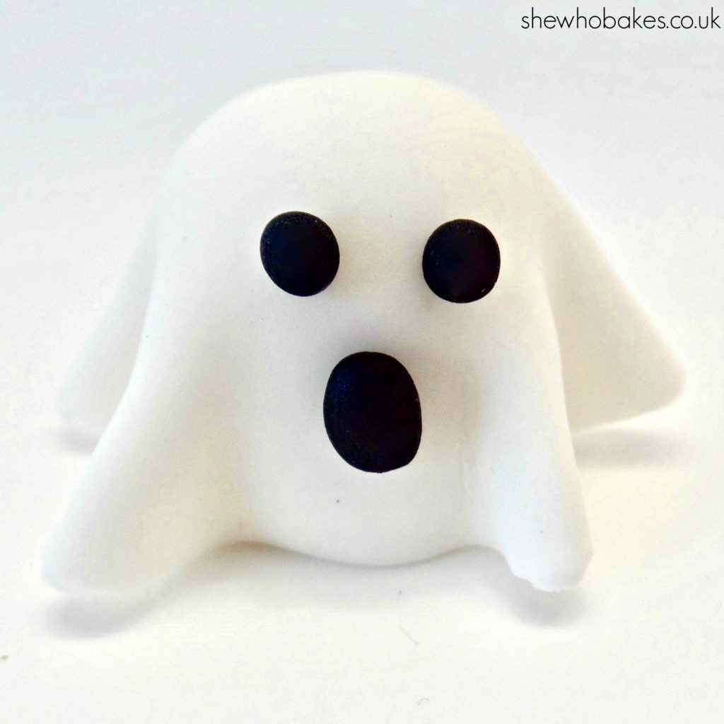Ghost Cupcake Topper by She Who Bakes