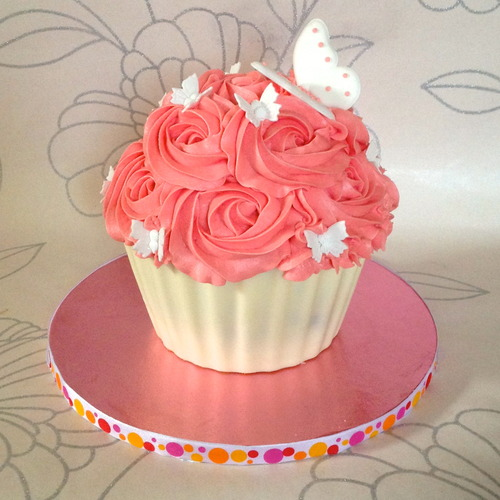 Cake Recipe For Giant Cupcake Mould