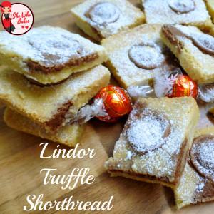 Lindt Lindor Truffle Shortbread Bars