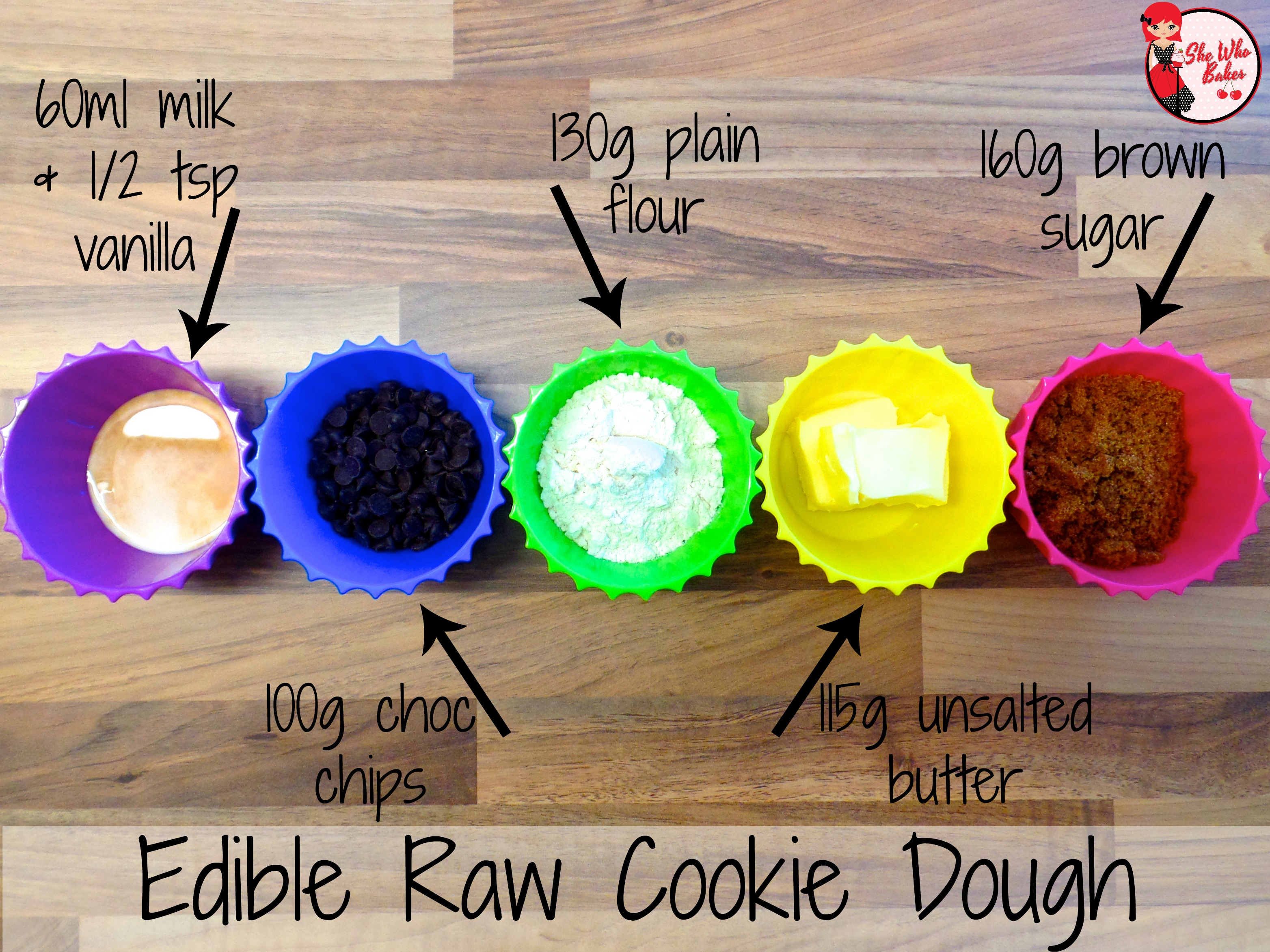 how to make edible cookie dough uk