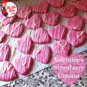 Valentine's Strawberry Creams